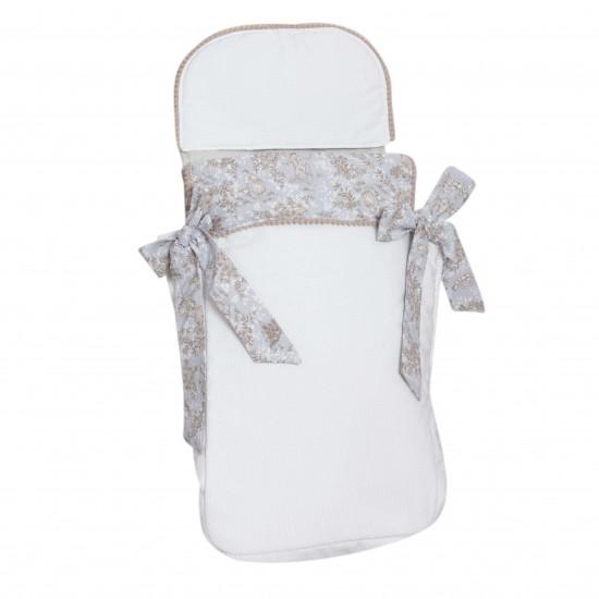 Saco bebé 3 usos Paseos de Toile Gris