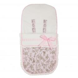 Saco bebé para Bugaboo Paseos de Toile rosa