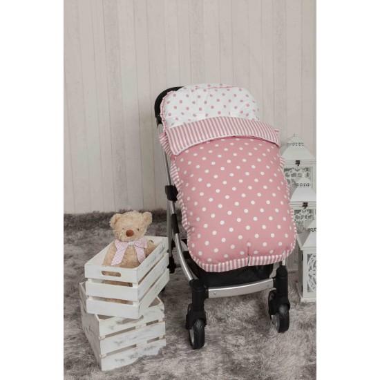 Saco bebé para Bugaboo Carrusel Rosa