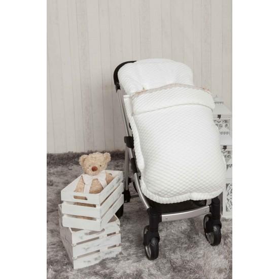 Saco bebé para Bugaboo Sweet Blanco