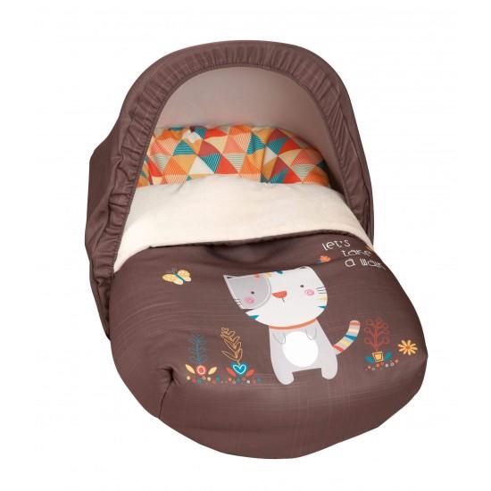 Saco Porta bebé Kitty Choco (capota incluida)