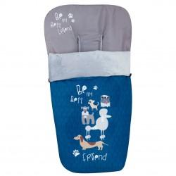 Saco para la silla de paseo Dogs Azul