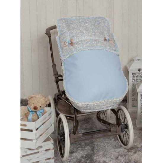 Saco para la silla de paseo Caramelo azul