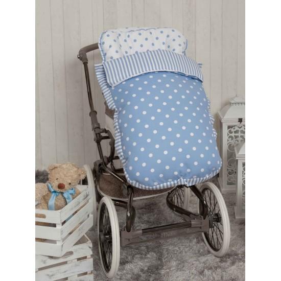 Saco para la silla de paseo Carrusel Azul