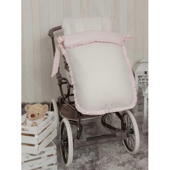 Saco para la silla de paseo Destellos Rosa