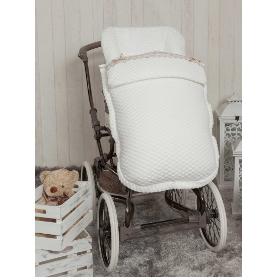 Saco para la silla de paseo Sweet Blanco