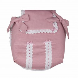 Classic car carrycot coverlet Rosa