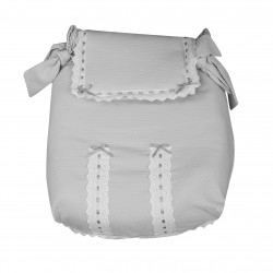 Gray Classic carrycot coverlet