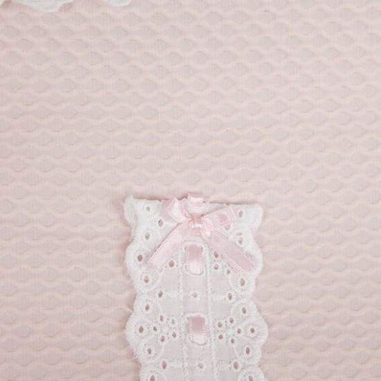 Saco 3 usos bebé Classic Rosa bebé