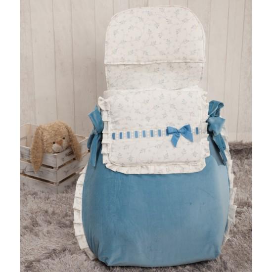 Saco 3 usos bebé Autumn Azul