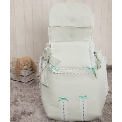 Classic baby bag 3 uses Agua Verde