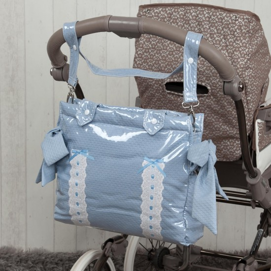 Baby car bag baby car Classic Blue