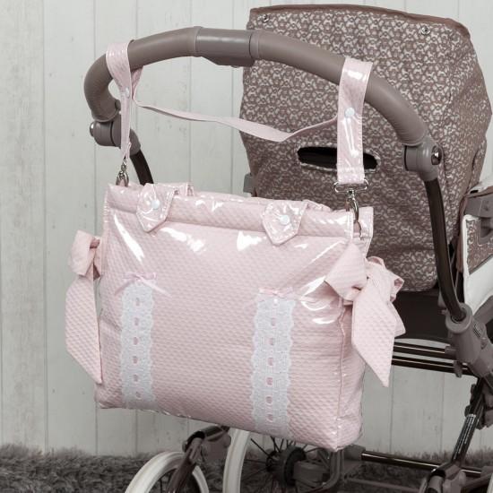 Panera coche bebé Classic Rosa Bebé