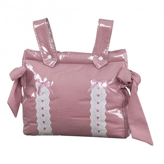 Baby car bag baby car Classic Pink