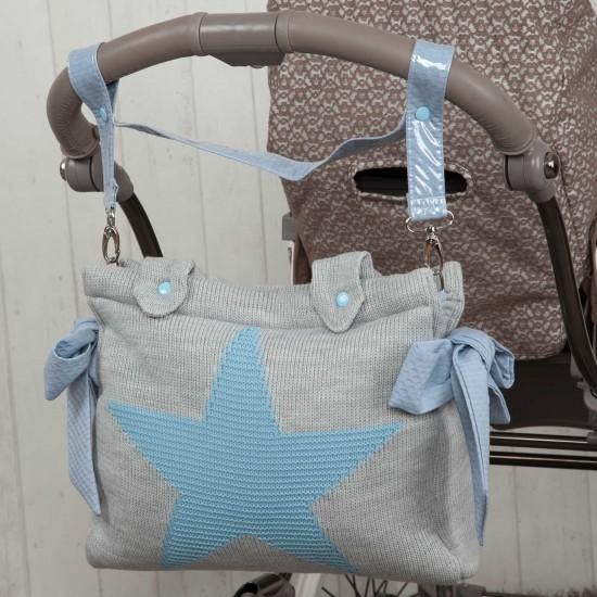 Panera coche bebé Snow Azul