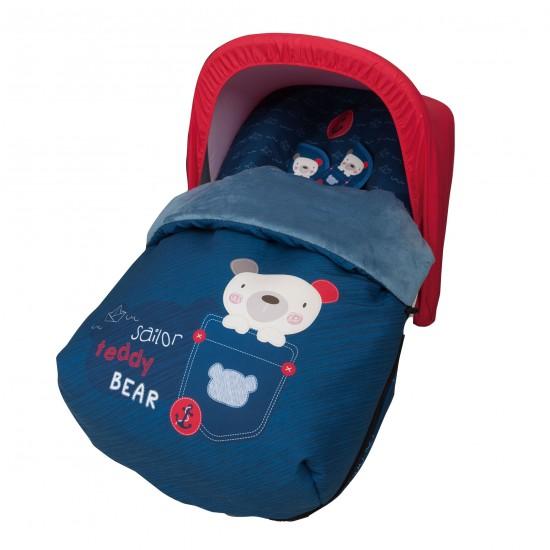 Saco para el grupo 0 Teddy Bear (capota no incluida)