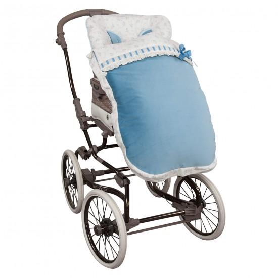 Saco para la silla de paseo Autumn Azul
