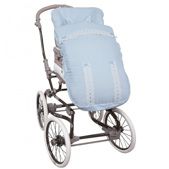 Saco para la silla de paseo Classic Celeste
