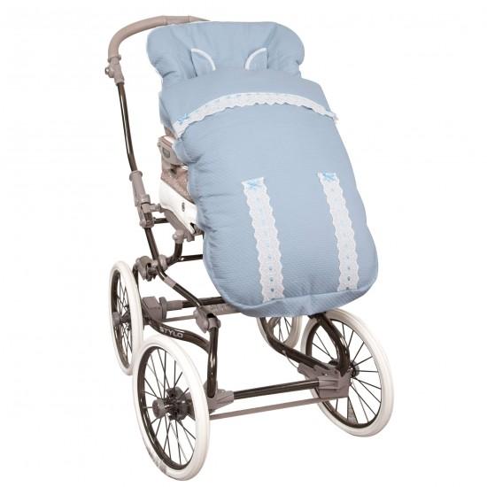Saco para la silla de paseo Classic Azul