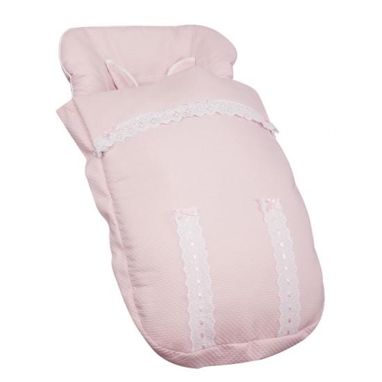 Saco para la silla de paseo para Bugaboo Classic Rosa Bebé