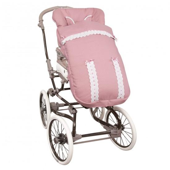 Saco para la silla de paseo Classic Rosa
