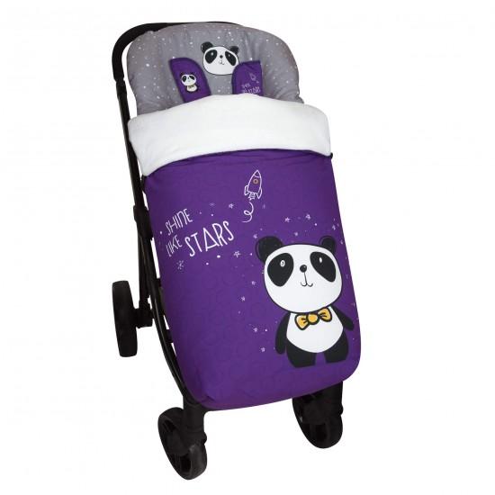 Saco para la silla de paseo Panda