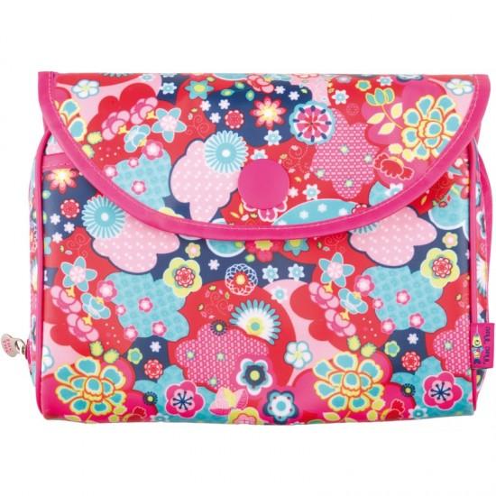 Neceser para pañales Kimono niña de Tuc-Tuc
