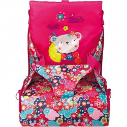 Trona portátil Kimono rosa de Tuc-Tuc