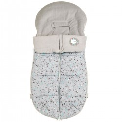 Stories Winter Jacket Gray and Green